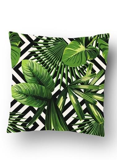 Lyn Home & Decor Palmiye Yastık Kılıfı Renkli